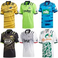 Wholesale Rugby Shirts Xxl - 2018 Chiefs Super Rugby Away Jersey new Zealand super Chiefs Blues Hurricanes Crusaders Highlanders shirts size S-M-L-XL-XXL- 3XL