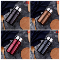 Wholesale heat lunch box - Stainless Steel Thermal Cooker Bottle Cooker Pot Thermal Heat Warm Travel Bottle Vacuum Mug Lunch Box 25pcs OOA4578