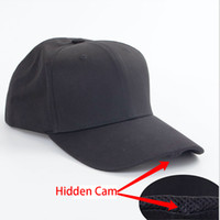 Wholesale Hd Hours - Video Recording Hidden Mini Hat Camera Spy Cap HD 1920x1080P Video Photo and Audio for 1000Mah Battery Lasts About 3 Hours