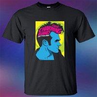 dessins de cou de bande achat en gros de-New This Charming Band Tribute To Morrissey Hommes Noir T-Shirt Taille S-3XL Fashion Design Livraison Gratuite Rude Top Tee Col Rond