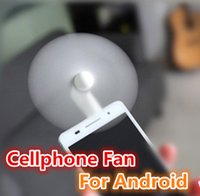 Wholesale test cooling - 100% Tested Micro USB Flexible Mini Fans Cooler Phone Hand Fan for Xiaomi Android Cellphone Fan for iPhone 5 6 6s 7 Plus