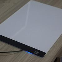prato de anime venda por atacado-Cópia da tabela LED placa de luz de mesa de cópia através da escrita anime dos desenhos animados desenho esboço desenho placa de plástico branco