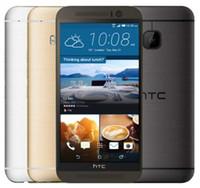 m9 mobil toptan satış-Orijinal HTC ONE M9 4G LTE Cep Telefonu 5.0 inç 3 GB RAM 32 GB ROM Sekiz Çekirdekli 1920x1080 20.0MP 2840 mAh Android yenilenmiş telefon