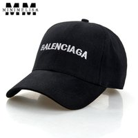 Wholesale English Caps - 2018 Summer New English Letters Hat Men Outdoor Sports Hats for Men Baseball Cap Ladies Sun Hat Adjustable Sneakers Caps