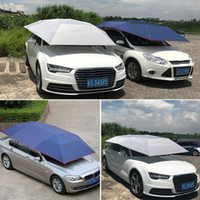 Wholesale Outdoor Shelter Canopy - Hewolf Automatic Awning Tent Car Cover Outdoor Waterproof Folded Portable Car Canopy Cover Anti-UV Sun Shelter Roof Tent New