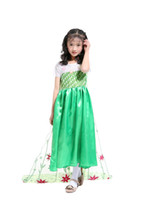 Wholesale children s fancy clothing for sale - fairy cosplay costume for girls the princess costume cosplay fancy dress l for Halloween party child clothes