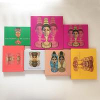 magische palette großhandel-Neue Juvia Zulu Palette die gleiche Artmagie nubian Augenschminkepalette Kleopatra-Augenschminke Shimmery Pearl Swatches DHL geben Verschiffen frei