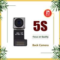 cámara trasera iphone 5s al por mayor-Módulo de cámara trasera para iPhone 5S Nueva leva con lente de cinta de leva de flash Pieza de cable flexible Repuesto de repuesto Repuestos