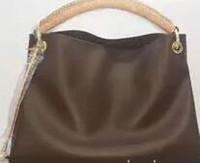ingrosso borsa della borsa di bambù-2018 stili Handbag Famoso Designer Brand bamboo handle Borse in pelle Donna Tote Shoulder Bags Lady Borse in pelle TOTES borsa m40249