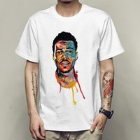 Wholesale gown music - Chance the rapper t shirt Chano music short sleeve gown Rap star tees Unisex clothing Quality modal Tshirt