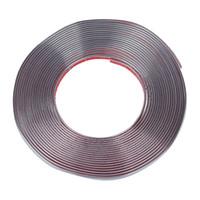 krom kalıplama şeridi toptan satış-İyi anlaşma-Araba Dekoratif Krom Kalıp Trim Şerit Gümüş Ton 15M x 10mm