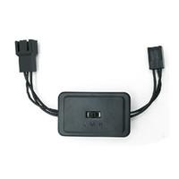 controladores de nivel al por mayor-PC CPU 12V Enfriador Controlador de velocidad del ventilador, tarjeta gráfica de video VGA Case 3pin Fan 3 Level (70%, 85%, 100%) Switcher para reducir el ruido