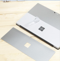 Wholesale Silver Body Stickers Skins Back Film Protector Shield for Microsoft Surface Surface Pro Pro Surface Pro