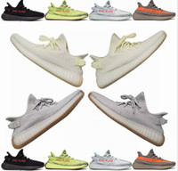 designer fashion 48994 6e622 Adidas Yeezy Boost 350 V2 Green color Sesame Butter ice yellow 36-46 350 v2  zapatos de diseñador Blue tint 350 V2 Sply Black Red BY9612 350 Hombres  Mujeres ...