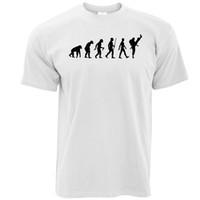 baskı tedarikçileri toptan satış-T Gömlek Tedarikçisi Kısa Kollu Baskılı O-Boyun Erkek Evrim Karate Dojo Kendini Savunma Siyah Kemer Tee