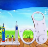 Wholesale tooth suit - Electric Toothbrush Holder for Tooth Brush Head for O B Stander Suit for D12 D20 D16 D10 Toothbrush Holder Oral Hygiene CCA10019 255pcs