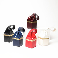 Wholesale patent genuine leather hand bag resale online - Ladies Evening Clutch Bags For Women Brand Designer Handbags New Fashion Patent Leather Hand Bag