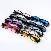 Wholesale led reading glasses wholesale - Multi Strength LED Reading Glasses Health Protection Reading Glasses With LED Light Night Vision aged Glasses KKA1756