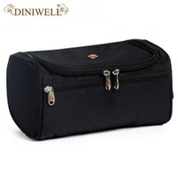 DINIWELL Large Waterproof Makeup Bag Polyester Travel Cosmetic Bag  Organizer Case Necessaries Make Up Wash Toiletry Bag For Men 8335213826
