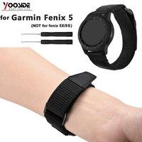 sport magnetischen armband großhandel-Weiche Breathable Nylonarmband Ersatz Magnetic Armband für Garmin Fenix 5 / Forerunner 935 Sport Gurtband