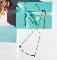 pingentes de jóias venda por atacado-2019 novo design de aço titanium 316l uma linha sorriso forma pingente de colar de jóias com logotipo nome presente frete grátis ps6046