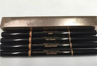 Double Eyebrow pencil EBONY Chocolate SOFT DARK BROWN MEDIUM