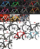 rennrad carbon 49cm großhandel-RB kohlefaser straßenrahmen 3k weben bb68 bb30 glänzend matt fahrrad frameset bicyle frameset mehr farben können gewählt werden