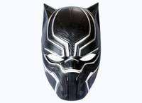 Wholesale Marvel Accessories Wholesale - Marvel Hero Black Panther Masks For Vendetta Mask Anonymous Guy Fawkes Fancy Dress Adult Costume Accessory Party Cosplay Masks