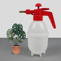 botella de agua de riego de jardín al por mayor-Pulverizador químico de 800 ml Pulverizador de presión portátil Botella de riego de agua de plástico Pulverizadores de agua Hmoe Garden Tools 3 8dt bb