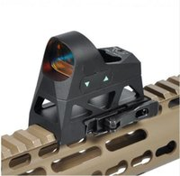 Wholesale Tactical Reticle Sight - Tactical 3 MOA Reflex Sight Mini Red Dot Sight 1x25 Reticle Red Dot Scope With QD Mount Hunting Scopes For 20mm Rail Bas