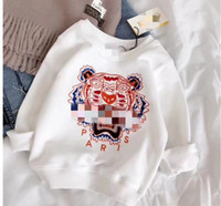 Wholesale boys sportwear - Boys girl supreman Hoodies Sweatshirts children Long sleeve sup Hoodie jacket kids coat brand Tiger embroidery casual sportwear