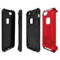 бронированный чехол для мобильного телефона оптовых-Для iPhone x 8 8plus намагниченный чехол для мобильного телефона с магнитной подставкой для телефона 2 в 1 Armor Hybrid Case