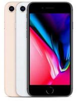 apple iphone großhandel-Neue Original überholte Apple iPhone 8 8 plus 4,7 5,5 Zoll 64 GB / 256 GB ROM 2 GB RAM hexa Core 12MP LTE Handy