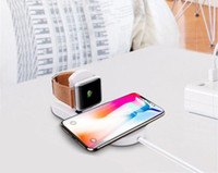 Wholesale apple watch chargers for sale - Group buy New in Wireless charger USB Fast Charging Phone Adapter for apple watch iwatch iphone X Plus Samsung S9 S8 Note Eapcket