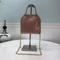 Wholesale tote bag making resale online - Classic ladies bag portable chain pearlescent series environmentally friendly microfiber made of coating technology to make it ha