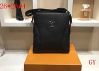 iş modası trendleri toptan satış-18ss erkek iş çanta moda atmosferi tek omuz Messenger çanta trendi patlama modelleri