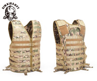 Wholesale vest airsoft for sale - Group buy SINAIRSOFT Molle Airsoft Tactical Vests Camouflage Vest Army CS Outdoor Fishing Hunting Gear with Hydration Pocket Ciras Stealth Vest