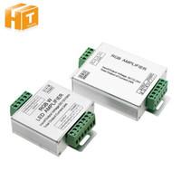 ingrosso uscite del controller rgb-LED RGBW / RGB DC12 - 24 V 24A Controller per console di alimentazione a strisce LED RGBW / RGB a 4 canali