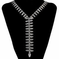 ingrosso 14k catene d'oro turco-Bohemian turco Vintage argento ciondolo in oro collana catena di fascino lunghe collane per le donne Maxi gioielli di moda