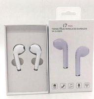 Wholesale Ip Earphone - 4.1 i7 twins earbuds mini headphones i7 twins earbuds earphone High Quality new stereo sport Headset wireless earphones for ip 7