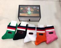 esportes de hotel venda por atacado-Novo 5 pares ace esporte meias meias designer de jogo das mulheres dos homens designer de meia sneaker antibacteriano desodorante algodão calzino marca de luxo meias