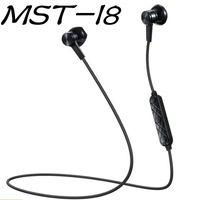b auriculares inalámbricos al por mayor-MST-I8 Auriculares magnéticos Bluetooth Micrófono estéreo Auriculares inalámbricos Auriculares Bluetooth para deportes para Samsung S9 8 Iphone X 8 con detalle B