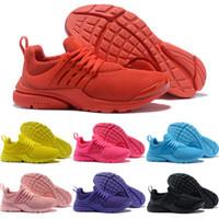спортивная обувь высшего качества оптовых-Лучшее качество Prestos 5 V кроссовки Мужчины Женщины 2019 Presto Ultra BR QS Желтый Розовый Черный Oreo Спорт на открытом воздухе Модные кроссовки 36-46