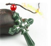 Wholesale hetian pendant resale online - Home gt Jewelry gt Necklaces Pendants gt Beaded Necklaces gt Product detail Natural Hetian Jade Cross Pendant Necklace Fashion Charm Jewelry Amu