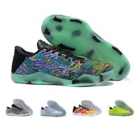 Kobe11 Elite Men Basketball Shoes Kobe 11 Master Road Monkey King Oreo Pale Horse Sneakers KB 11 EP Sports Sneakers With Shoes Box