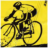 siyah sarı dağ bisikleti toptan satış-ELOS-WOSAWE Erkekler Yaz Bisiklet Dağ Yol Bisikleti Jersey Bisiklet Kısa Kollu Elbise, BC298 Sarı + siyah XXL