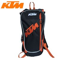Wholesale Tank Motorcycle Helmets - Free shipping motorcycle Motocross KTM Hydration pack new style bags Travel bags racing packages Bicycle helmet pack BB-KTM-06