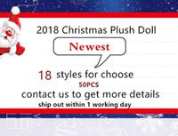 jouets élves achat en gros de-Date 18 Style Elfes Rapide DHL Expédition De Noël Elf Poupée En Peluche jouets Elfes De Noël Poupées sur l'étagère Pour Les Enfants De Noël Cadeau