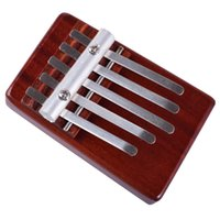 Wholesale percussion instruments for children for sale - Group buy 5 Notes Kalimba Wood Marimba Percussion Instruments Toy For Kids Finger Piano Gifts Child Thumb Piano