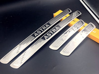 Wholesale Car Door Sills - wholesale for Opel Vauxhall Astra door sill car-styling stainless steel 4pcs set car styling Opel decorate molding Astra tool